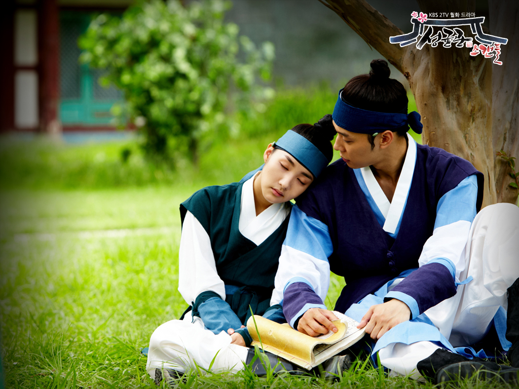 sungkyunkwan-scandal-official-wallpaper-micky-yoochun-and-park-min-young